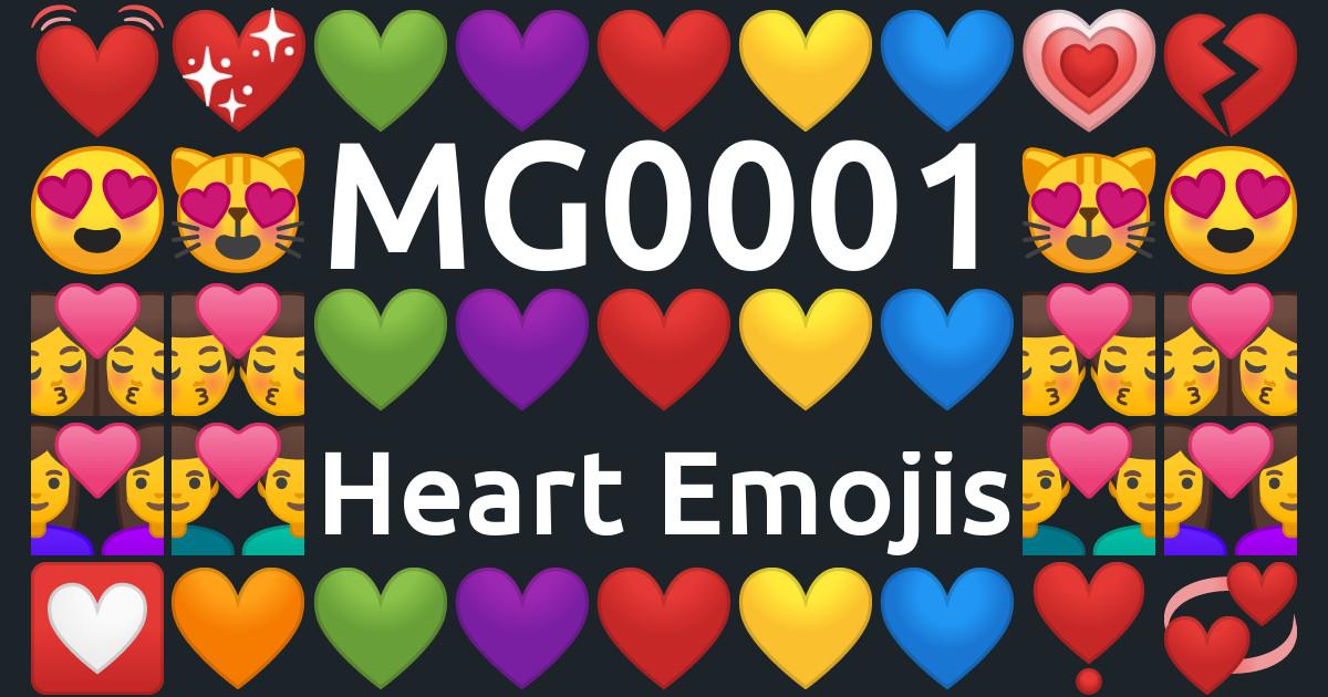 MG0001: Heart Emoji
